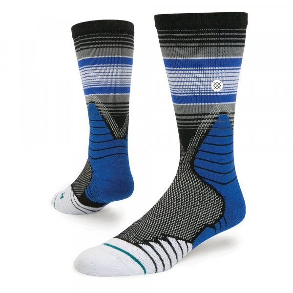 STANCE ZEĶES BASKETBALL PERFORMANCE THREE POINT BLACK