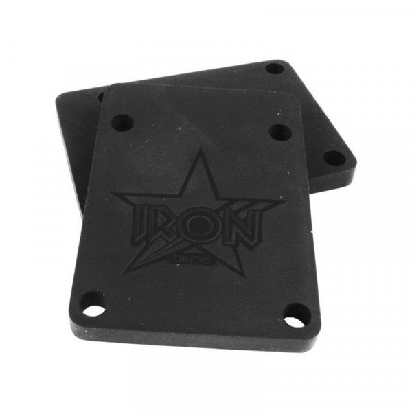IRON RISER PAD PACK BLACK 6 MM 70A 74X53 (2 SET)