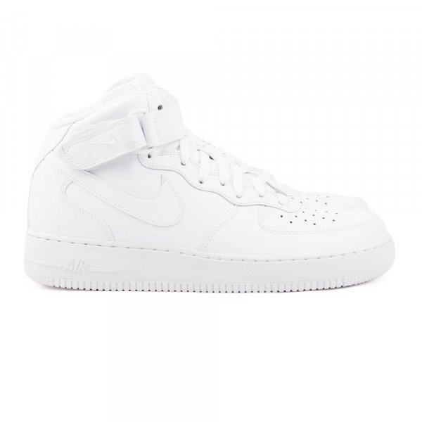 NIKE APAVI AIR FORCE 1 '07 MID W WHITE WHITE F17