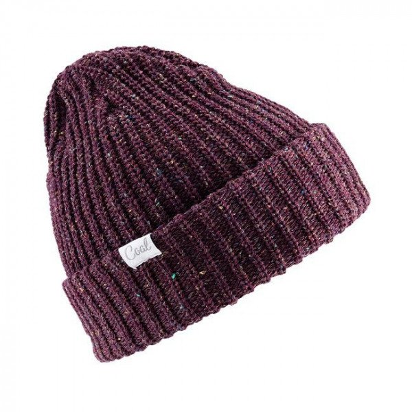 COAL BEANIE EDITH PLUM F19
