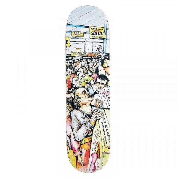 ANTI HERO SK8KLĀJS DAAN MALL GRAB DECK 8.12