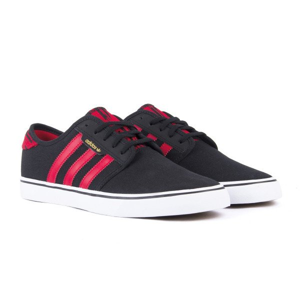 ADIDAS APAVI SEELEY CORE BLACK SCARLET WHITE S18