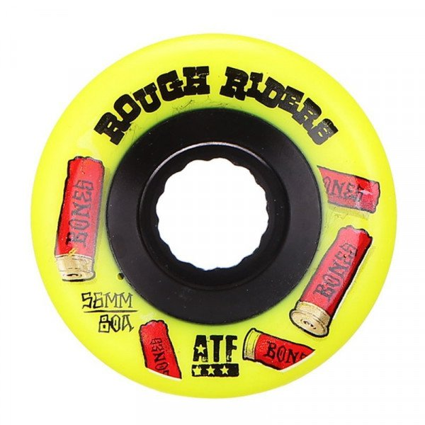 BONES SK8RITEŅI ROUGH RIDERS SHOTGUN 59 MM YELLOW