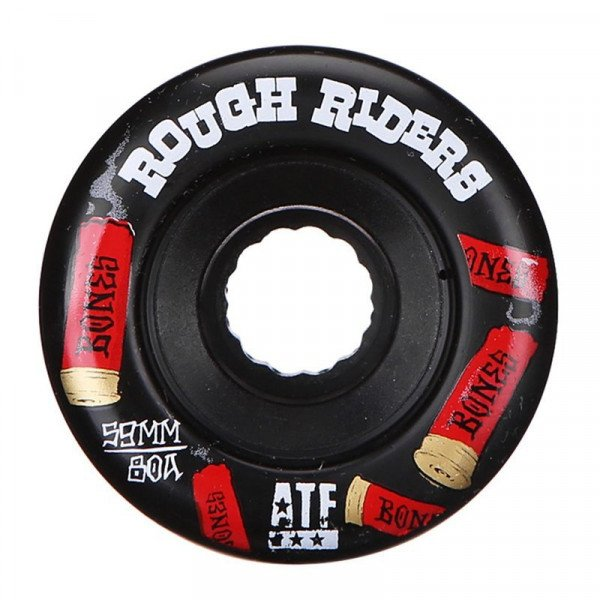 BONES SK8RITEŅI ROUGH RIDERS SHOTGUN 59 MM BLACK