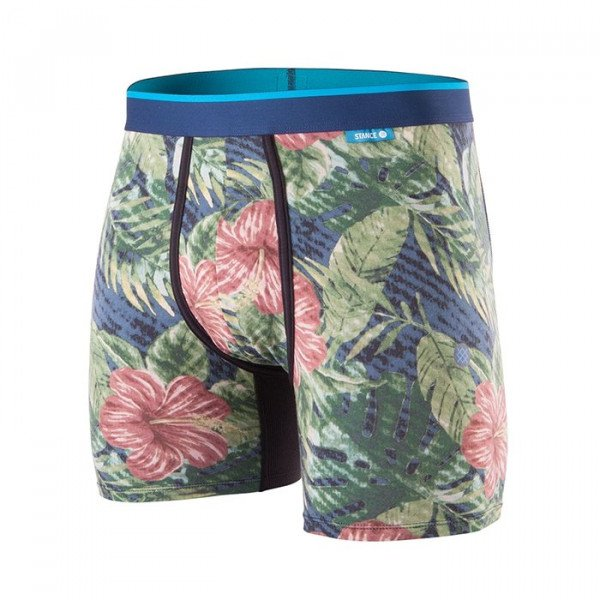 STANCE APAKŠVEĻA JUNGLE FLORAL WHOLESTER NAVY