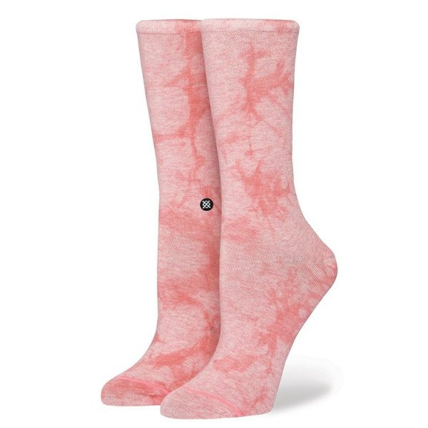 STANCE ZEĶES RESERVE WOMENS STRAWBERRY EVERYDAY PINK