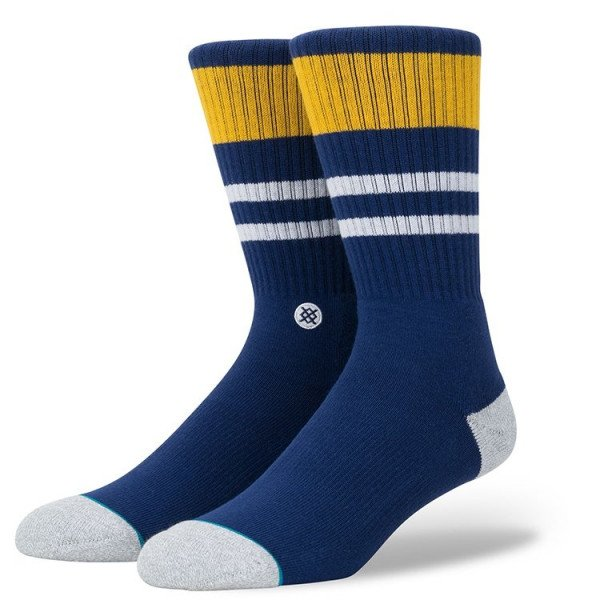 STANCE ZEĶES BLUE FOUNDATION TRY OUTS NAVY