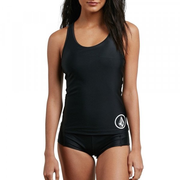 VOLCOM TOP SIMPLY SOLID TANKINI BLK