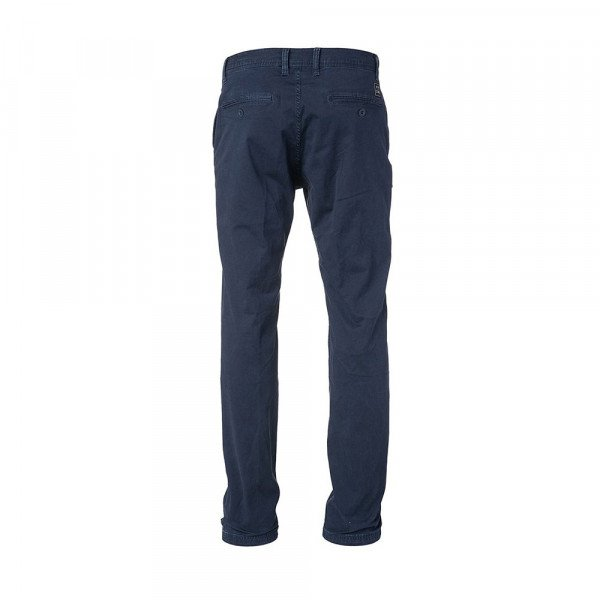 RIP CURL BIKSES TRAVELLERS STRAIGHT CHINO PANT MOOD INDIGO S18
