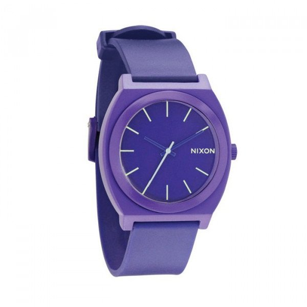 NIXON PULKSTENIS TIME TELLER P PURPLE