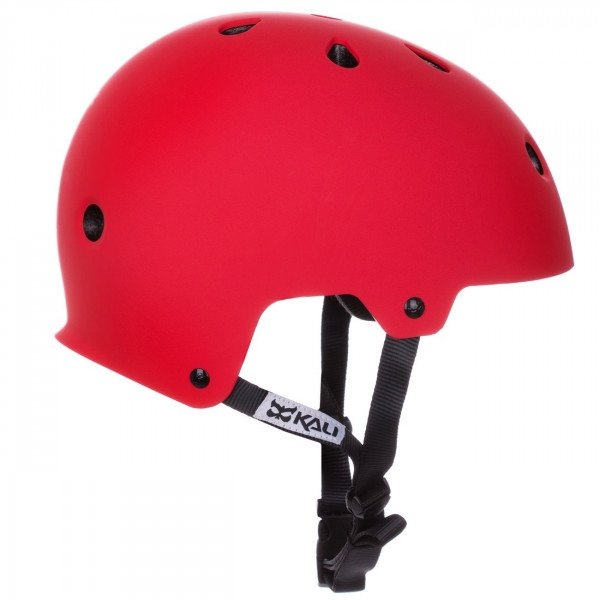KALI HELMET MAHA SOLID RED