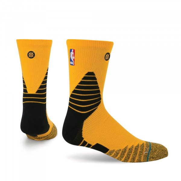 STANCE SOCKS NBA ONCOURT SOLID QTR YELLOW