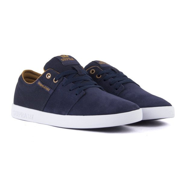 SUPRA APAVI STACKS II NAVY TAN WHITE F19