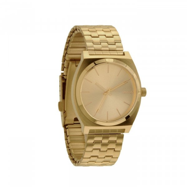 NIXON PULKSTENIS TIME TELLER ALL GOLD GOLD