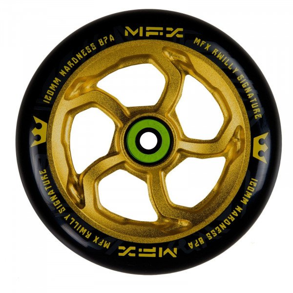MGP DETAĻA 120 MM MFX WHEEL R WILLY SIGNATURE GOLD