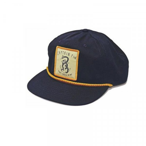 CAPTAIN FIN CEPURE CAP SHRED ON ME NAVY