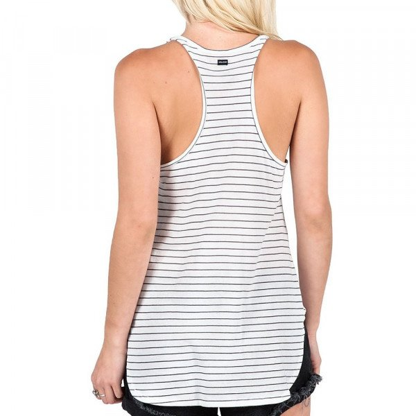 VOLCOM TOPS LIVED IN STRIPE TANK GMT S16