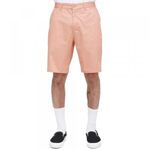 OBEY ŠORTI STRAGGLER LIGHT SHORT DUSTY ROSE S18