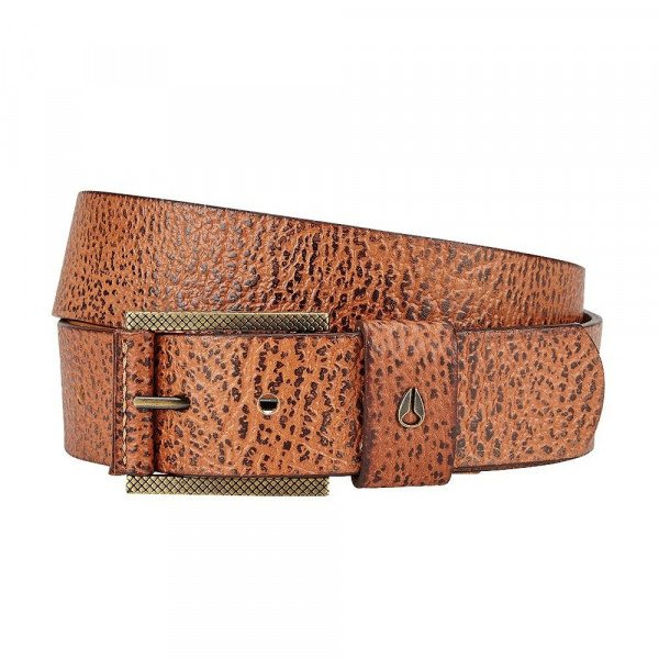 NIXON JOSTA AMERICANA BELT II BROWN