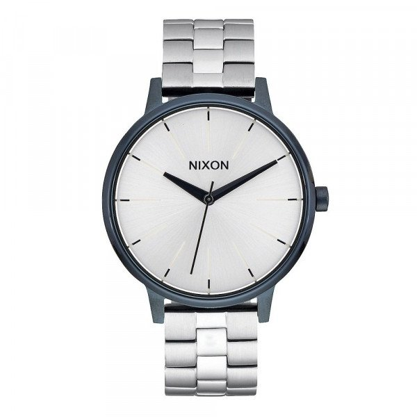 NIXON WATCH KENSINGTON NAVY SILVER