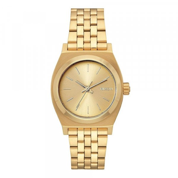 NIXON PULKSTENIS MEDIUM TIME TELLER ALL GOLD