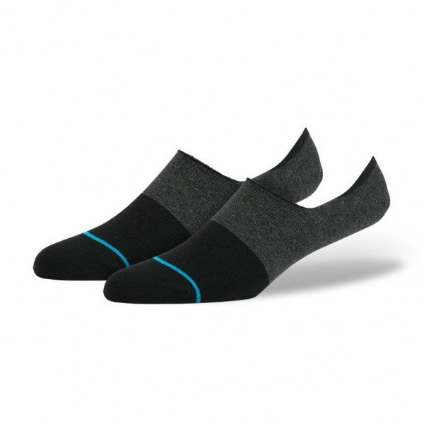 STANCE SOCKS UNCOMMON SOLIDS SPECTRUM SUPER BLACK