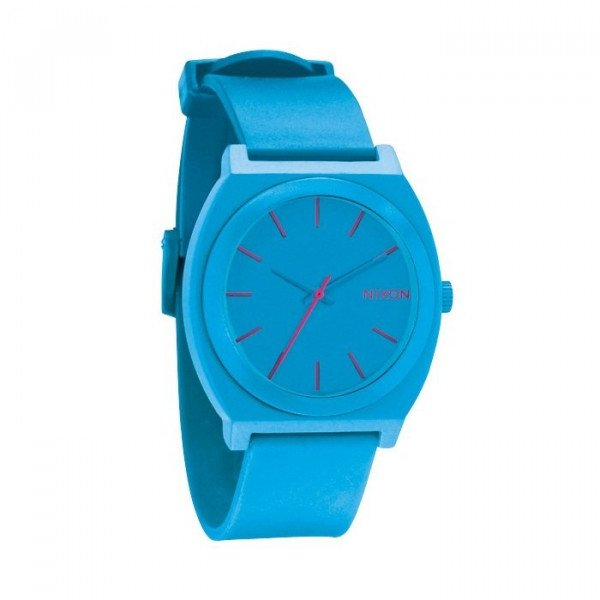 NIXON WATCH TIME TELLER P BRIGHT BLUE