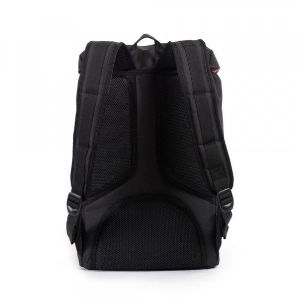 HERSCHEL SOMA LITTLE AMERICA MID VOLUME BLACK F18