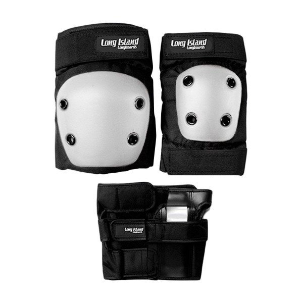 LONG ISLAND AIZSARGI 3 PCS PROTECTIVE KID WHITE
