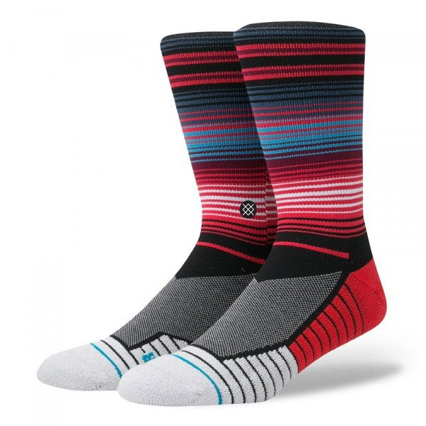 STANCE ZEĶES ATHLETIC FUSION HUDDLE RED