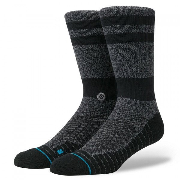 STANCE ZEĶES ATHLETIC FUSION TRAINING CREW BLACK