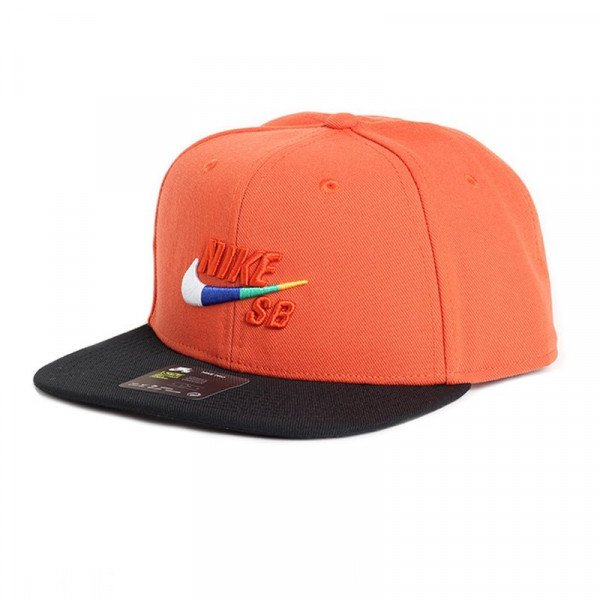 NIKE CEPURE NK CAP PRO VINTAGE CORAL BLACK S18