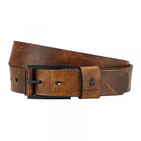 NIXON JOSTA AMERICANA SE BELT BLACK BROWN