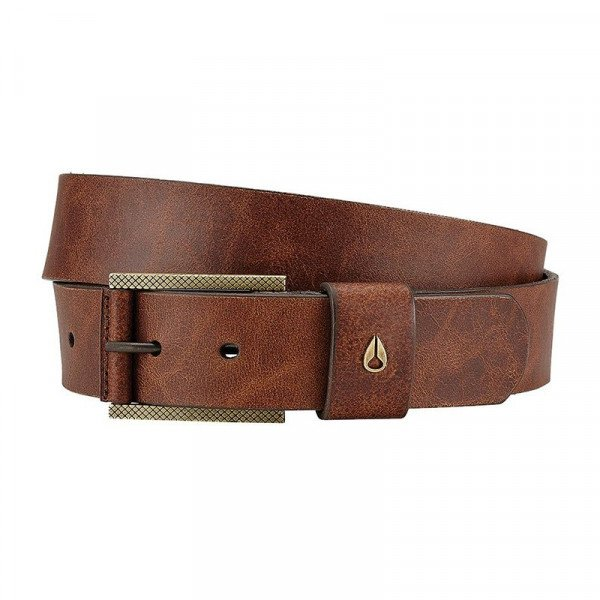 NIXON JOSTA AMERICANA SE BELT BROWN