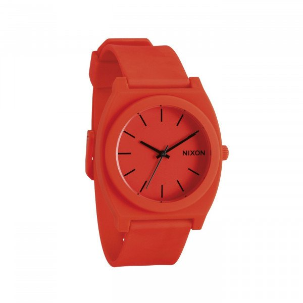 NIXON PULKSTENIS TIME TELLER P NEON ORANGE