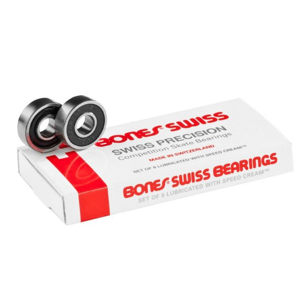 BONES GULTŅI SWISS BEARINGS (8 PACK)