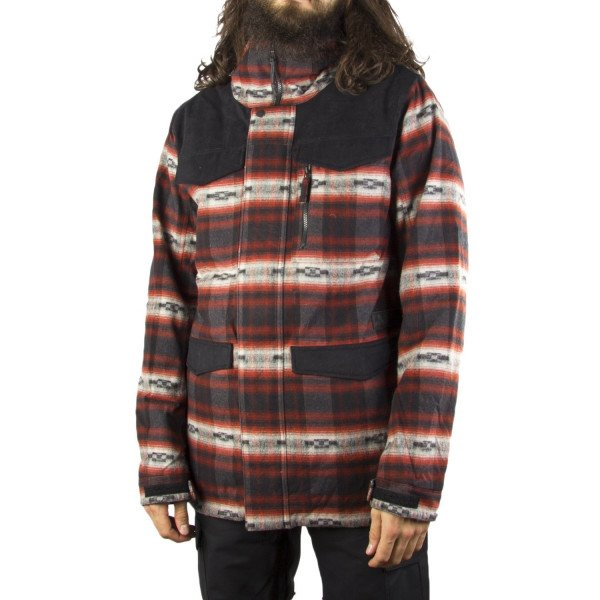 BURTON JAKA MB COVERT JACKET FIRED BRICK AZREK W17