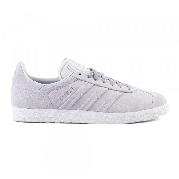 ADIDAS APAVI GAZELLE STITCH AND TURN W GREY TWO WHITE S18