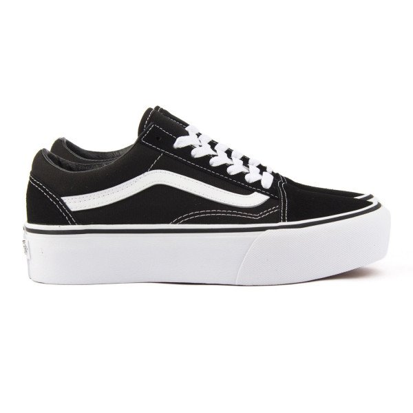 VANS APAVI OLD SKOOL PLATFORM BLACK WHITE