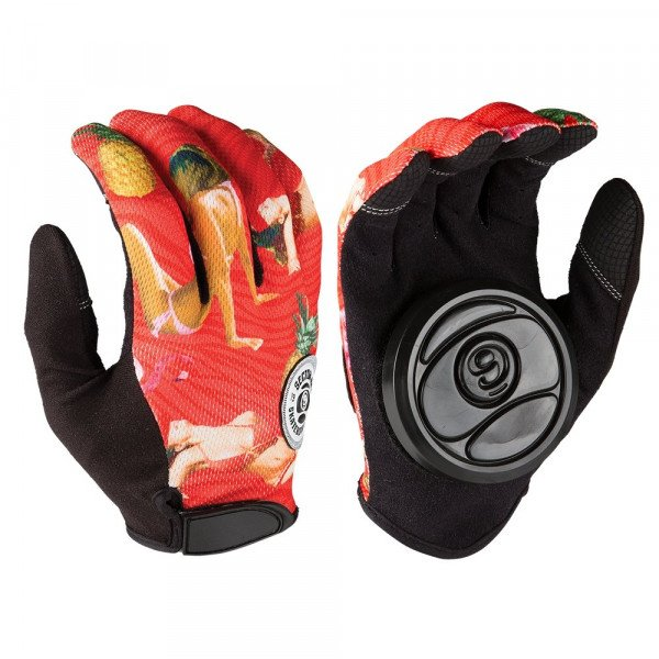 SECTOR 9 CIMDI RUSH SLIDE GLOVES RED