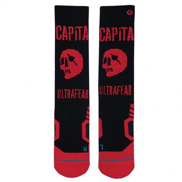 STANCE ZEĶES SNOW ULTRAFEAR BLACK