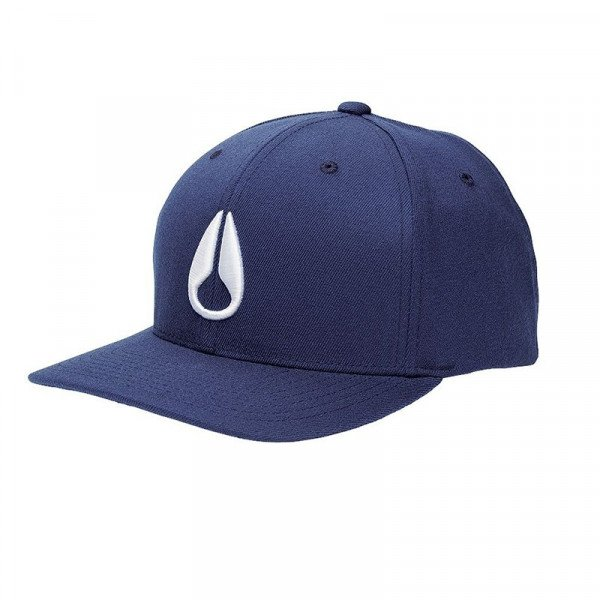 NIXON CEPURE DEEP DOWN FF ATHLETIC FIT HAT NAVY S18