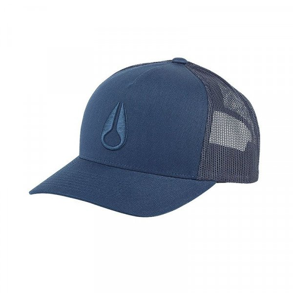NIXON CEPURE ICONED TRUCKER HAT ALL NAVY