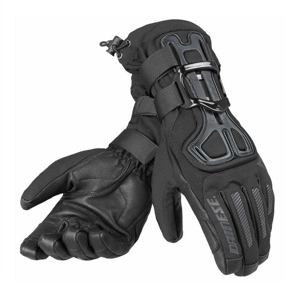 DAINESE GLOVES D-IMPACT 13 D-DRY GLOVE BLACK CARBON