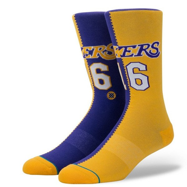 STANCE ZEĶES NBA ARENA LAKERS SPLIT JERSEY YELLOW
