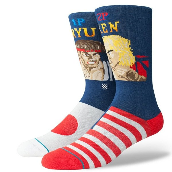 STANCE ZEĶES ANTHEM RYU VS KEN NAVY