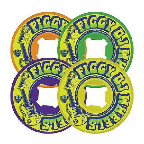 OJ SK8RITEŅI FIGGY BROKEN LICKS EZ EDGE 53MM