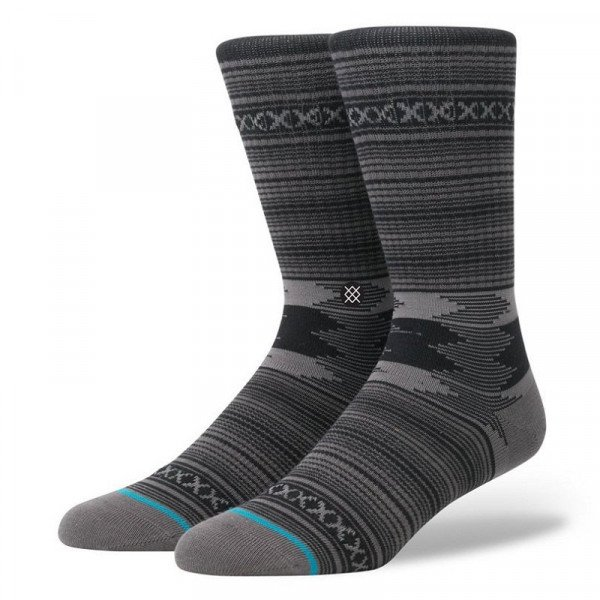 STANCE ZEĶES BLUE FOUNDATION GUADALUPE CHARCOAL