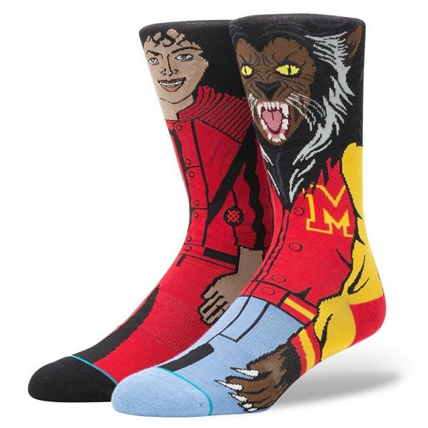 STANCE ZEĶES BLUE FOUNDATION MICHAEL JACKSON RED