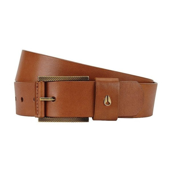 NIXON JOSTA AMERICANA BELT II HONEY BROWN